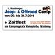 Grafik, Layout und Design: JeepCamp Festival, Transparent 2011.